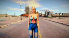 Helena Douglas Casual v20 для GTA San Andreas