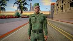 Serbian Soldier v2 для GTA San Andreas