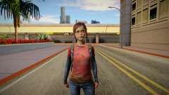 Ellie (good skin) для GTA San Andreas