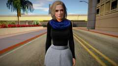 Christie Casual v2 (good skin) для GTA San Andreas