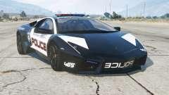 Lamborghini Reventon 2008〡Hot Pursuit Police〡add-on для GTA 5