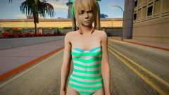Nagis Marie Rose with fixed hairs green-eyed in для GTA San Andreas