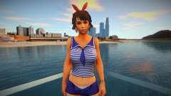 Tekken 7 Josie Rizal Marine для GTA San Andreas