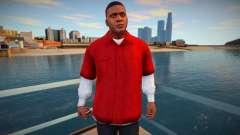 Франклин в красной рубашке для GTA San Andreas