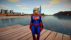 Supergirl Legendary from DC Comics Legends skin для GTA San Andreas