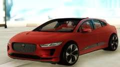 Jaguar I-PACE для GTA San Andreas