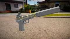 SIG P226R (Escape from Tarkov) - Silenced для GTA San Andreas