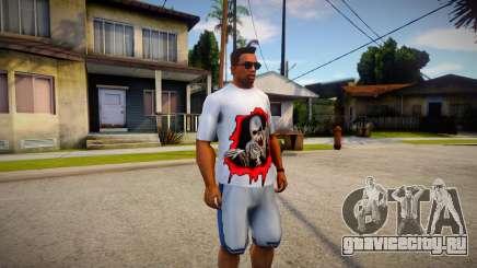 Skeleton T-shirt для GTA San Andreas