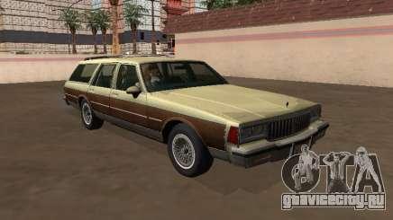 Pontiac Safari 1979 Wood для GTA San Andreas