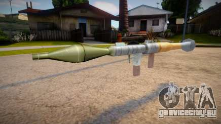 New textures for the rocket launcher для GTA San Andreas