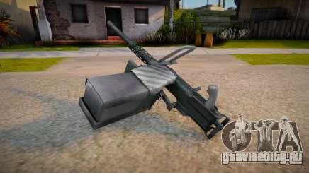 Heavy Machine Gun для GTA San Andreas