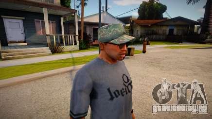 Военная кепка из GTA Online для GTA San Andreas