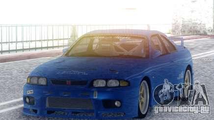 Nissan Skyline GT-R BCNR33 TBK для GTA San Andreas