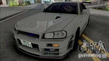 Nissan Skyline GT-R R34 JP для GTA San Andreas