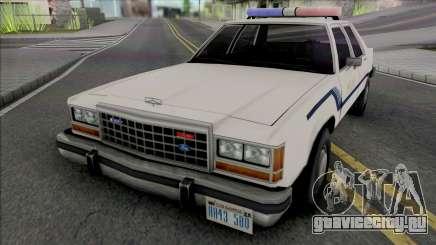Ford Crown Crown Vic 1986 Fort Carson Police для GTA San Andreas
