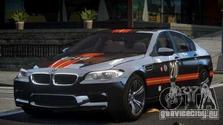 BMW M5 F10 PSI-R S9 для GTA 4
