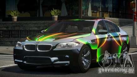 BMW M5 F10 PSI-R S8 для GTA 4