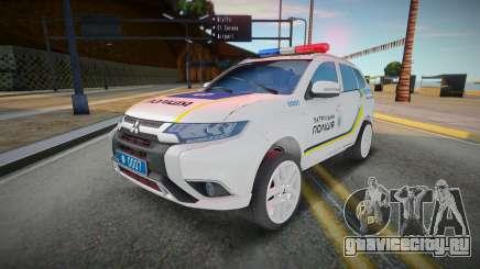 Mitsubishi Outlander - патрульная полиция Украин для GTA San Andreas