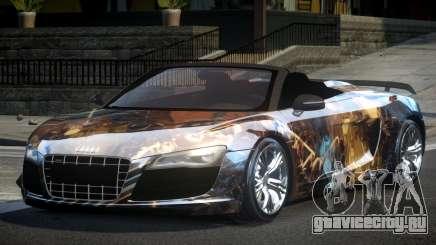 Audi R8 SP Roadster PJ8 для GTA 4