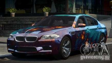 BMW M5 F10 PSI-R S2 для GTA 4