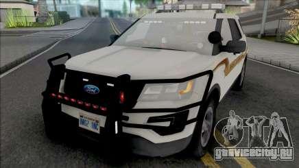 Ford Explorer 2017 Fayette County Sheriff для GTA San Andreas