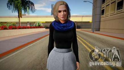 Christie Casual v2 (good skin) для GTA San Andreas