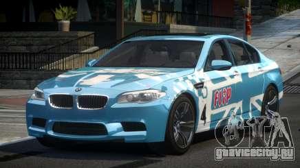 BMW M5 F10 PSI-R S5 для GTA 4