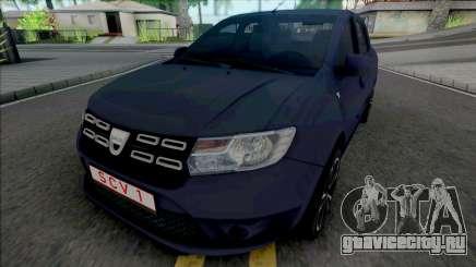 Dacia Logan Pope Edition для GTA San Andreas