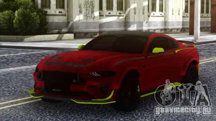Ford Mustang RTR Spec5 2019 для GTA San Andreas