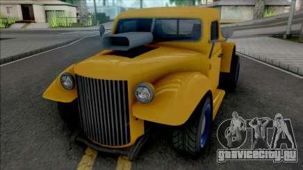 GTA V Bravado Rat-Truck [VehFuncs] для GTA San Andreas