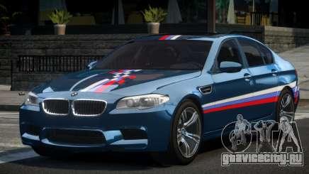 BMW M5 F10 PSI-R S3 для GTA 4
