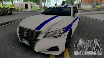 Toyota Crown Athlete GRS214 2016 Private Taxi для GTA San Andreas