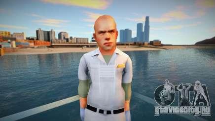 Jimmy Hopkins AsylumOrderly Costume для GTA San Andreas