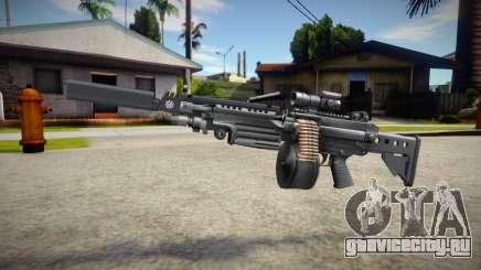 M249 (good textures) для GTA San Andreas
