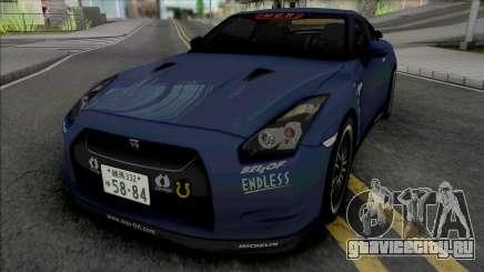 Nissan GT-R R35 MCR для GTA San Andreas