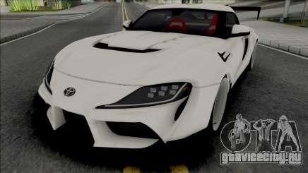 Toyota Supra GR 2020 Varis для GTA San Andreas