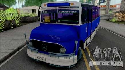 Mercedes-Benz LO 1113 Metalpar Ami 1980-1984 для GTA San Andreas