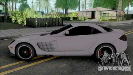 Mercedes-Benz SLR McLaren [Fixed] для GTA San Andreas