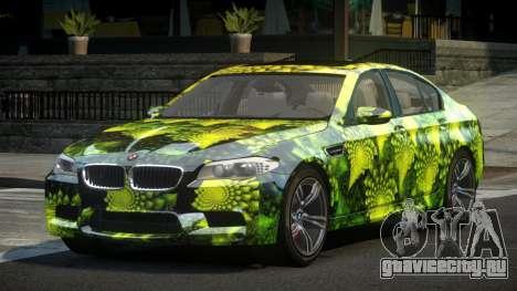 BMW M5 F10 US L3 для GTA 4
