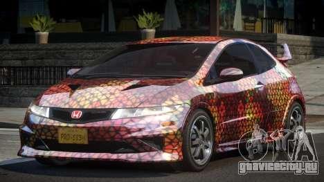 Honda Civic PSI-U L4 для GTA 4