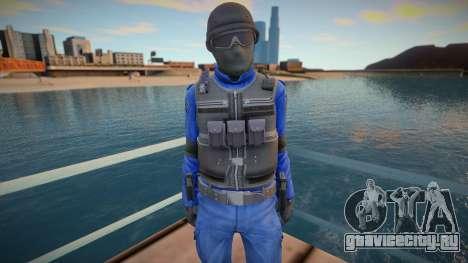 New swat (good model) для GTA San Andreas