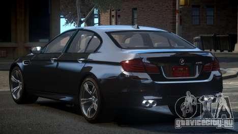 BMW M5 F10 US для GTA 4