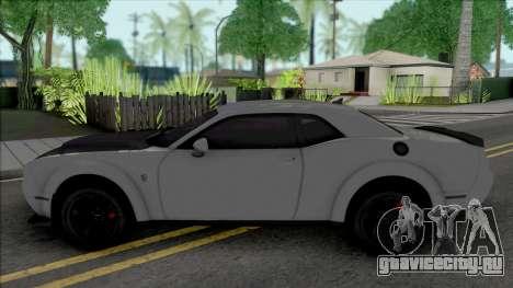 Dodge Challenger Demon SRT 2019 для GTA San Andreas