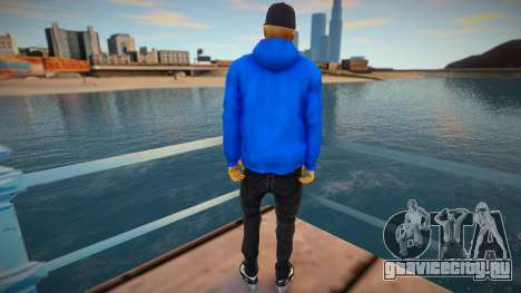 Latinos Adidas style для GTA San Andreas