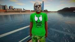 Nigga skull mask from GTA Online для GTA San Andreas