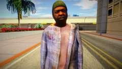 Бомж из GTA 5 v2 для GTA San Andreas