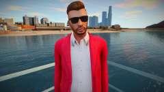Young businessman from GTA V для GTA San Andreas