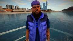 Афроамериканец с бородкой для GTA San Andreas