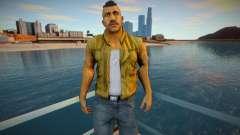 Lincoln Clay from Mafia 3 [Vest] для GTA San Andreas