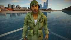 Lincoln Clay from Mafia 3 [coat-helmet] для GTA San Andreas